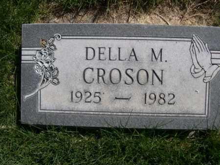 GROSON, DELLA M. - Dawes County, Nebraska   DELLA M. GROSON - Nebraska Gravestone Photos