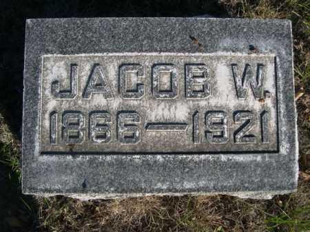 GROVE, JACOB W. - Dawes County, Nebraska | JACOB W. GROVE - Nebraska Gravestone Photos