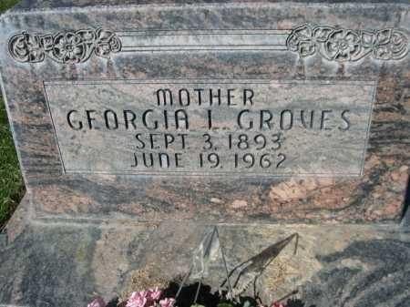 GROVES, GEORGIA L - Dawes County, Nebraska   GEORGIA L GROVES - Nebraska Gravestone Photos
