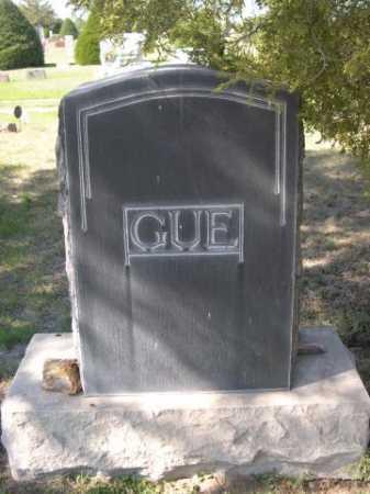GUE, FAMILY - Dawes County, Nebraska   FAMILY GUE - Nebraska Gravestone Photos