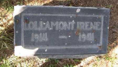 GUE, LOLLAMONT IRENE - Dawes County, Nebraska | LOLLAMONT IRENE GUE - Nebraska Gravestone Photos