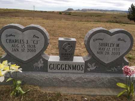 GUGGENMOS, SHIRLEY M. - Dawes County, Nebraska | SHIRLEY M. GUGGENMOS - Nebraska Gravestone Photos