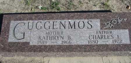 GUGGENMOS, KATHRYN B. - Dawes County, Nebraska | KATHRYN B. GUGGENMOS - Nebraska Gravestone Photos