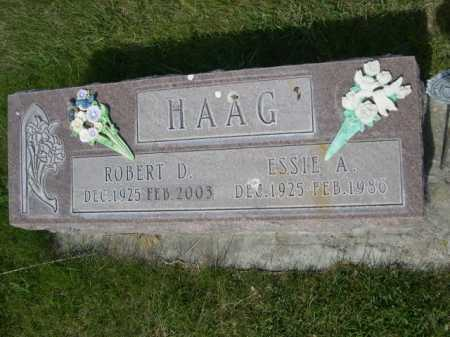 HAAG, ESSIE A. - Dawes County, Nebraska   ESSIE A. HAAG - Nebraska Gravestone Photos