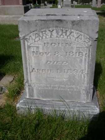 HAAS, MARY - Dawes County, Nebraska | MARY HAAS - Nebraska Gravestone Photos