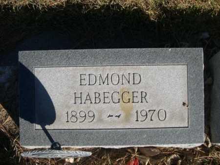 HABEGGER, EDMOND - Dawes County, Nebraska   EDMOND HABEGGER - Nebraska Gravestone Photos