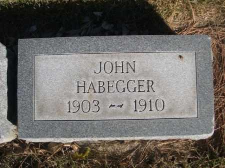 HABEGGER, JOHN - Dawes County, Nebraska | JOHN HABEGGER - Nebraska Gravestone Photos