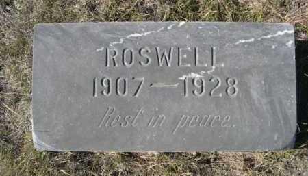 HACK, ROSWELL - Dawes County, Nebraska | ROSWELL HACK - Nebraska Gravestone Photos