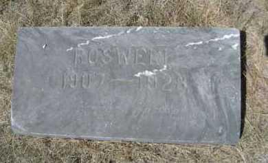 HACK, ROSWELL - Dawes County, Nebraska   ROSWELL HACK - Nebraska Gravestone Photos