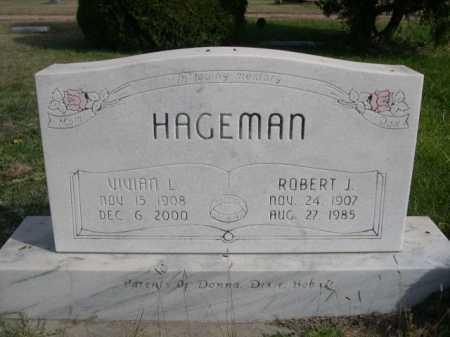 HAGEMAN, ROBER J - Dawes County, Nebraska | ROBER J HAGEMAN - Nebraska Gravestone Photos