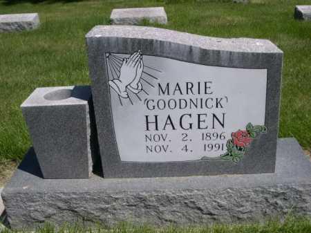 HAGEN, MARIE - Dawes County, Nebraska   MARIE HAGEN - Nebraska Gravestone Photos