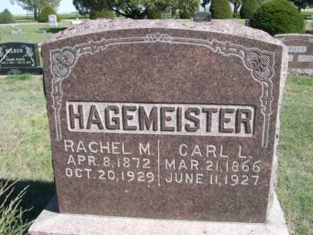 HAGEMEISTER, RACHEL M. - Dawes County, Nebraska | RACHEL M. HAGEMEISTER - Nebraska Gravestone Photos