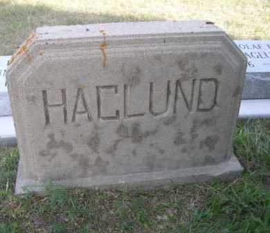 HAGLUND, FAMILY - Dawes County, Nebraska | FAMILY HAGLUND - Nebraska Gravestone Photos