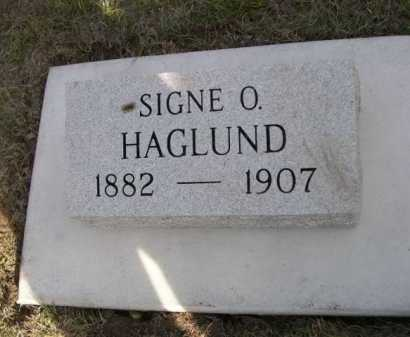 HAGLUND, SIGNE O. - Dawes County, Nebraska | SIGNE O. HAGLUND - Nebraska Gravestone Photos