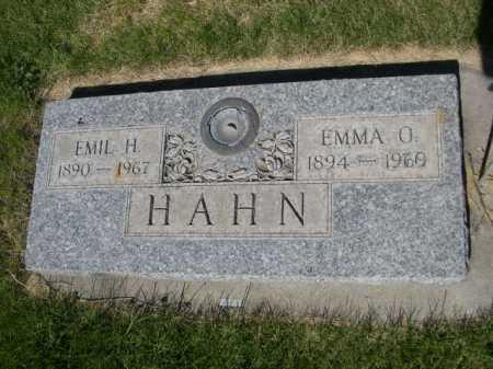 HAHN, EMMA O. - Dawes County, Nebraska   EMMA O. HAHN - Nebraska Gravestone Photos