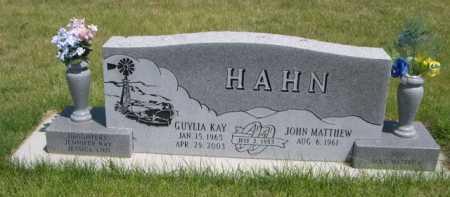 HAHN, GUYLIA KAY - Dawes County, Nebraska | GUYLIA KAY HAHN - Nebraska Gravestone Photos