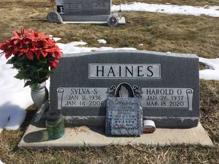 HAINES, SYLVA S. - Dawes County, Nebraska | SYLVA S. HAINES - Nebraska Gravestone Photos