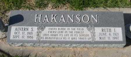 HAKANSON, RUTH I. - Dawes County, Nebraska | RUTH I. HAKANSON - Nebraska Gravestone Photos