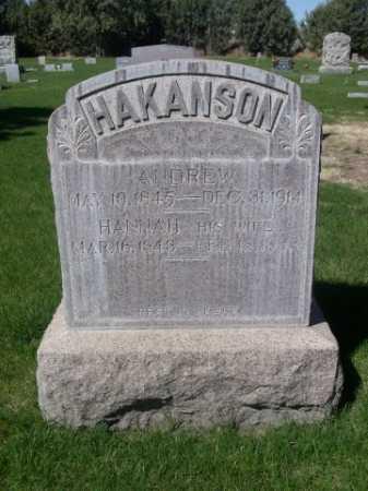 HAKANSON, HANNAH - Dawes County, Nebraska | HANNAH HAKANSON - Nebraska Gravestone Photos