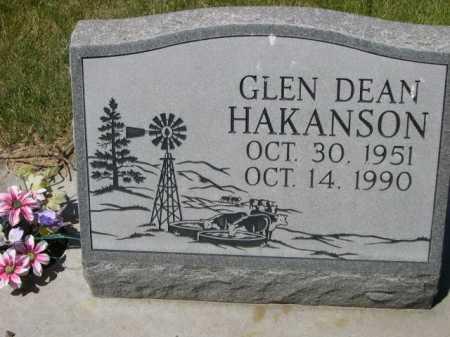 HAKANSON, GLEN DEAN - Dawes County, Nebraska   GLEN DEAN HAKANSON - Nebraska Gravestone Photos