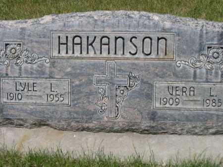 HAKANSON, VERA L. - Dawes County, Nebraska | VERA L. HAKANSON - Nebraska Gravestone Photos
