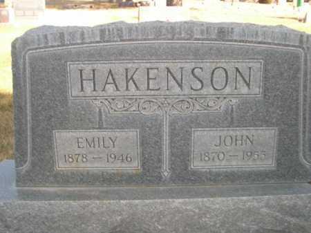 HAKENSON, JOHN - Dawes County, Nebraska | JOHN HAKENSON - Nebraska Gravestone Photos