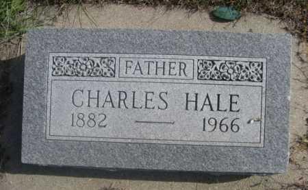 HALE, CHARLES - Dawes County, Nebraska | CHARLES HALE - Nebraska Gravestone Photos
