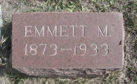 HALE, EMMETT M. - Dawes County, Nebraska | EMMETT M. HALE - Nebraska Gravestone Photos