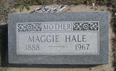 HALE, MAGGIE - Dawes County, Nebraska | MAGGIE HALE - Nebraska Gravestone Photos
