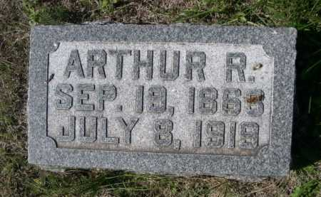 HALL, ARTHUR R. - Dawes County, Nebraska | ARTHUR R. HALL - Nebraska Gravestone Photos