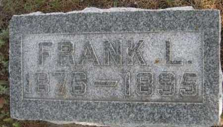 HALL, FRANK L. - Dawes County, Nebraska   FRANK L. HALL - Nebraska Gravestone Photos