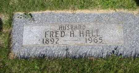 HALL, FRED A. - Dawes County, Nebraska   FRED A. HALL - Nebraska Gravestone Photos