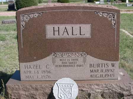 HALL, BURTIS W. - Dawes County, Nebraska   BURTIS W. HALL - Nebraska Gravestone Photos