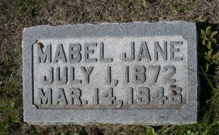 HALL, MABEL JANE - Dawes County, Nebraska   MABEL JANE HALL - Nebraska Gravestone Photos