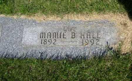 HALL, MAMIE B. - Dawes County, Nebraska | MAMIE B. HALL - Nebraska Gravestone Photos