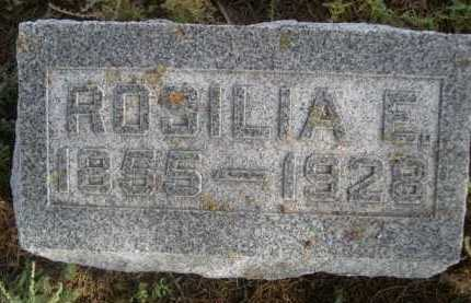 HALL, ROSILIA E. - Dawes County, Nebraska | ROSILIA E. HALL - Nebraska Gravestone Photos