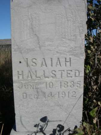 HALLSTED, ISAIAH - Dawes County, Nebraska | ISAIAH HALLSTED - Nebraska Gravestone Photos