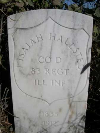 HALLSTED, I ISAIAH - Dawes County, Nebraska   I ISAIAH HALLSTED - Nebraska Gravestone Photos