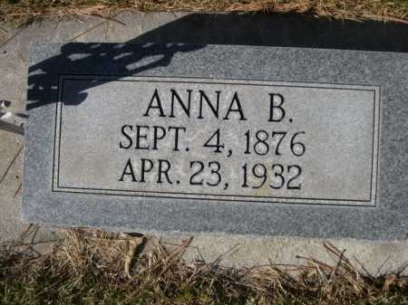 HALLSTED, ANNA B. - Dawes County, Nebraska   ANNA B. HALLSTED - Nebraska Gravestone Photos