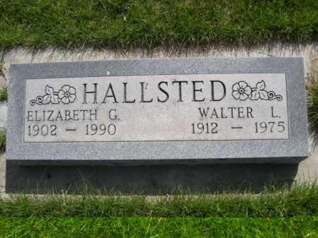 HALLSTED, WALTER L. - Dawes County, Nebraska | WALTER L. HALLSTED - Nebraska Gravestone Photos