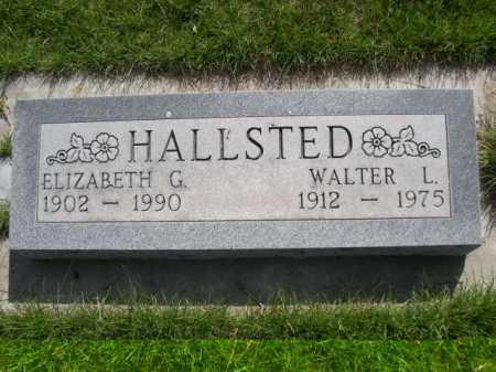 HALLSTED, ELIZABETH G. - Dawes County, Nebraska | ELIZABETH G. HALLSTED - Nebraska Gravestone Photos