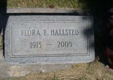 HALLSTED, FLORA E. - Dawes County, Nebraska | FLORA E. HALLSTED - Nebraska Gravestone Photos