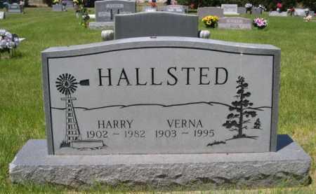 HALLSTED, VERNA - Dawes County, Nebraska | VERNA HALLSTED - Nebraska Gravestone Photos