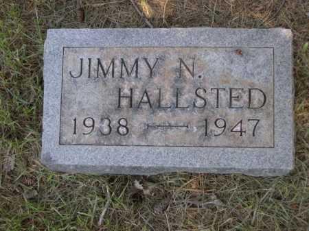 HALLSTED, JIMMY N. - Dawes County, Nebraska | JIMMY N. HALLSTED - Nebraska Gravestone Photos