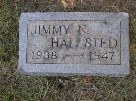 HALLSTED, JIMMY N. - Dawes County, Nebraska | JIMMY N. HALLSTED - Nebraska Gravestone Photos
