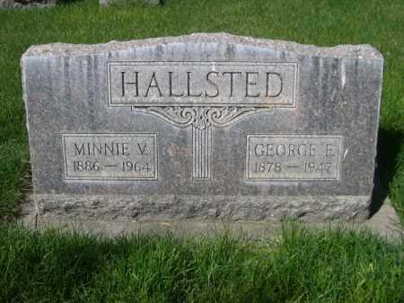 HALLSTED, GEORGE E. - Dawes County, Nebraska   GEORGE E. HALLSTED - Nebraska Gravestone Photos