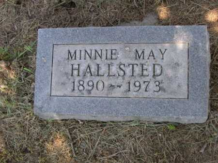 HALLSTED, MINNIE MAY - Dawes County, Nebraska | MINNIE MAY HALLSTED - Nebraska Gravestone Photos
