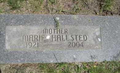 HALLSTED, MARIE - Dawes County, Nebraska | MARIE HALLSTED - Nebraska Gravestone Photos