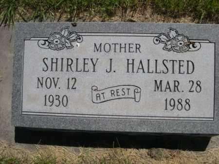HALLSTED, SHIRLEY J. - Dawes County, Nebraska | SHIRLEY J. HALLSTED - Nebraska Gravestone Photos