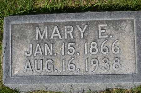 HALSTEAD, MARY E. - Dawes County, Nebraska   MARY E. HALSTEAD - Nebraska Gravestone Photos